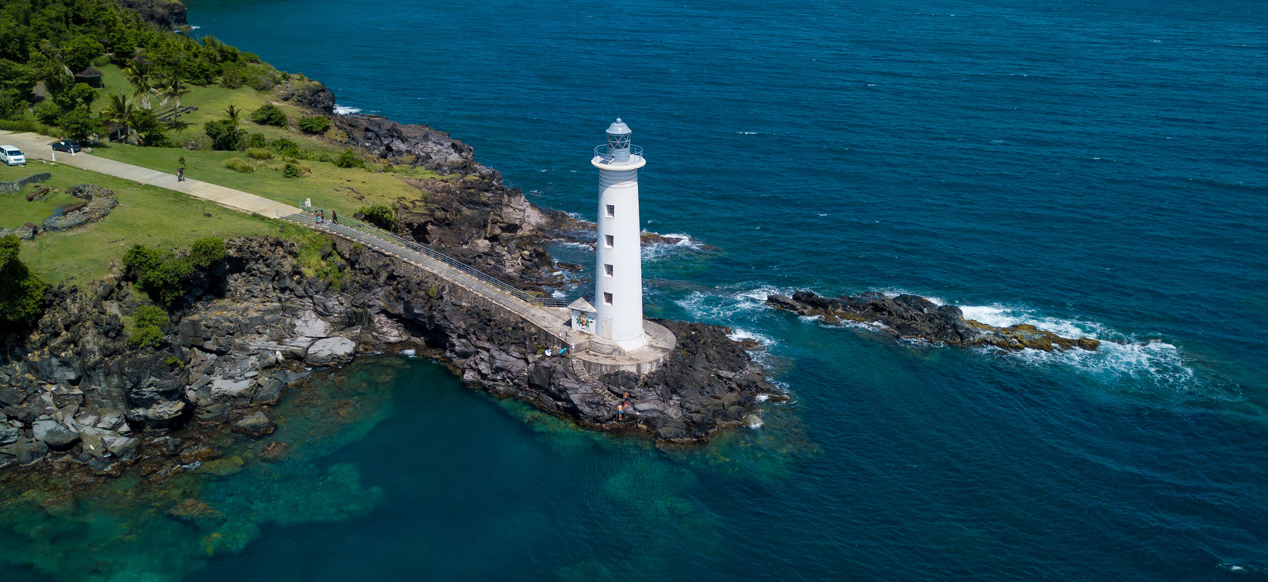 phare vieux fort guadeloupe